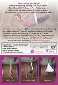 Free Floating Experience with Claudia Lederer Rückseite